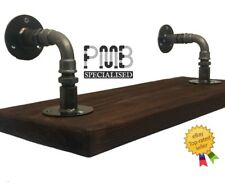 Steel Scaffold Board Brackets PAIR 120mm | Industrial | HANDMADE in the UK!