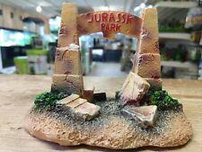 Jurassk (Jurassic copy) Park Dinosaur Gate Aquarium Decor Fish Tank Ornament