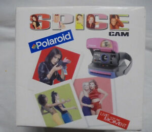 POLAROID - SPICE GIRLS SPICECam, - BOXED & STICKERS