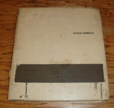 Original 1975 Chevrolet Dealer Service Information Bulletin Album 75 Chevy