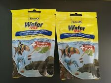 2 packets of Tetra Wafer Mix Complete Food 68g Bottom Feeders Crustaceans