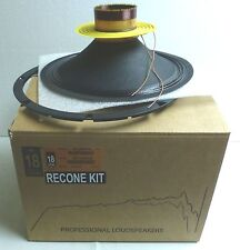 Eighteen Sound /18 Sound R12MB700 Original Recone Kit