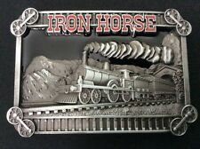 New Iron Horse Train Belt Buckle