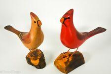 Jim Slack Beautiful North American Cardinal Songbird Lot Signed by Artist Gh573