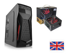 ATX/M-ATX GAMING PC COMPUTER  MID TOWER CASE - WITH LMS Data 700W ATX PSU