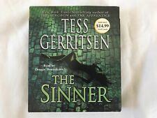 The Sinner by Tess Gerritsen (2003, Abridged, 5 CD) Audiobook Used