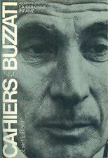 Cahiers Buzatti n°4 La colonne infame 1981 Long envoi a Adrien Salmieri