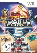 Nintendo Wii Spiel ***** Hot Wheels Battle Force Five 5 *****************NEU*NEW