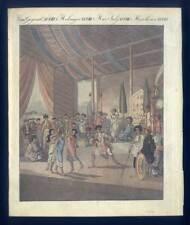 Cochinchinesische Oper-Vietnam-Kambotscha-Ethnologie - Bertuch-Aquatinta 1800