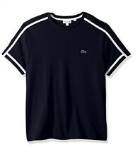 Lacoste Men's Short Sleeve 3 Ply Regular Fit Pique Tee With Croc Size 7/XXL