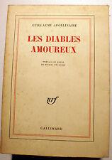 CURIOSA/APOLLINAIRE/LES DIABLES AMOUREUX/NRF/1964