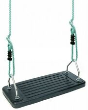 Junior Rubber Safety Swing on Adjustable Ropes Heavy Duty Cubby Playground Toys