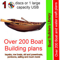 Build a boat, kayak, paddle boat, canoe, motor boat, Sail Boat, surfboard & more