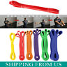Resistance Bands Yoga Stretch Pull Latex Loop Set Exercise Home Gym Fitness Tube