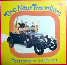 The New Travellers SIGNED These Songs Are Just For You LP album 3 autographs