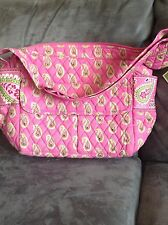 VERA BRADLEY BERMUDA PINK CARRY ALL - RARE - BRAND NEW WITH TAGS