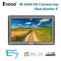 """Eyoyo 5"""" Ultra FHD On-camera Video Field IPS E5 HDMI For Nikon Zhiyun Canon DSLR"""