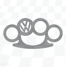 VW Knuckles Sticker Volkswagen decal Beetle Golf Polo Splitty Passat [vw015]