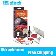 DIY Windshield Repair Kit Quick Fix Car Wind Glass Bullseye Rock Chip Crack Star