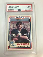 1984 Topps USFL Steve Young Rookie RC PSA 7.5 HOT #52