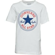 Converse white Chuck Taylor logo tshirt Size Small S