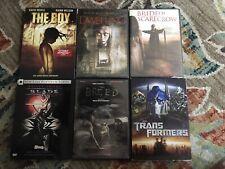 Horror/SciFi Movie Lot (6) dvd