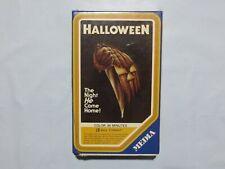 NEW Halloween BETAMAX Tape SEALED Media 1978 Beta Cassette Tape SUPER RARE O1