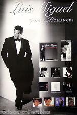 Luis Miguel 1997 Todos Los Romances Original Promo Poster