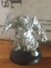 Butcher/slaughter Master not complete Ogre Kingdoms Games Workshop metal OOP