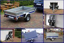 PKW Anhänger 750 kg GG Anhänger 183x118x29 cm Klappanhänger Einachser Anhänger