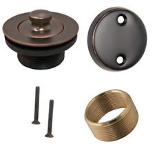 Universal Conversion Kit Bathtub Tub Drain Assembly - OilRubbed Bronze