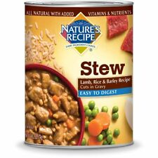 Nature's Recipe Easy to Digest Wet Dog Food, Lamb, Rice  Barley Recipe Cuts In