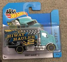 2014 Hot Wheels HIWAY HAULER 2 VHTF Short Card