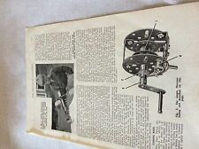 m11b ephemera 1956 picture meccano. Am c dobbin nottingham model aeroplane