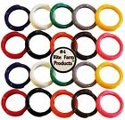 """20 MULTI COLORED #4 LEG BANDS 1/4"""" CHICKEN POULTRY CHICK QUAIL PIGEON DUCK GOOSE"""