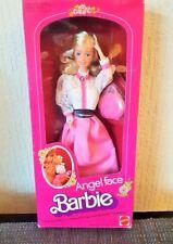 VINTAGE FACCIA D'ANGELO 1982 Bambola Barbie mai rimossa dalla confezione