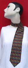 Krawatte mit Bärenmotiv