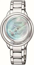 CITIZEN EW5520-84D Eco-Drive Ladies Solar Diamond Watch Luxury RRP $1750.00