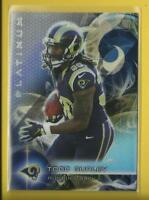 Todd Gurley RC  2015 Topps Platinum Rookie Card # 103  L A Rams Football RB