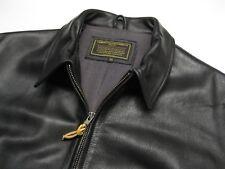 Coronado Black Leather Concealed Carry Jacket size 50 Short