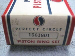 Piston Ring Set 3 9/16 STD 1955 - 1964 Studebaker V-8 259 289 top ring cast