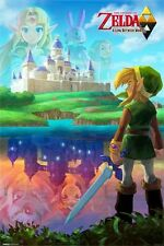 LEGEND OF ZELDA - TWO WORLDS - VIDEO GAME POSTER - 24x36 - 10059