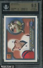 2000 Aurora #84 Tom Brady New England Patriots RC Rookie BGS 9.5 GEM MINT