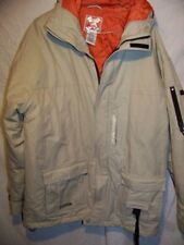 Quiksilver Insulated Commuter Parka Jacket Coat, Men's Small
