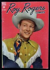 Roy Rogers Comics Volume 1 Issue #10 Dell Photo Cover Comic Book