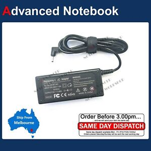 19V 2.37A AC Power Charger Adapter 3.0*1.0mm 4 Acer Swift 3 SF314-41 laptop