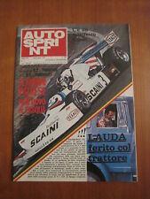 AUTOSPRINT 17/1976 - Safari Rally / Patrese / Giacomelli / Flammini