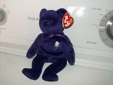 Ty  Princess Diana Bear with PVC Pellets, see photo's