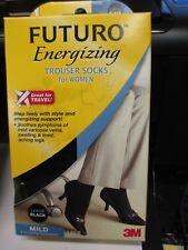 Futuro Energizing  Knee Highs  Stockings Size Large   Black 71023