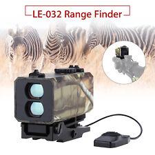700m Laser Range Finder Riflescope Sight Rifle Scope Distance Meter FR Hunting